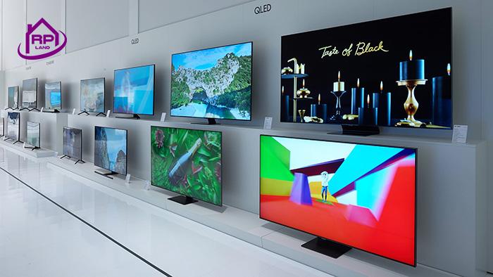 تلویزیون با صفحه نمایش QLED