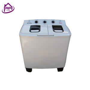 ماشین لباسشویی دوقلو ناسیونال 10.5 کیلویی