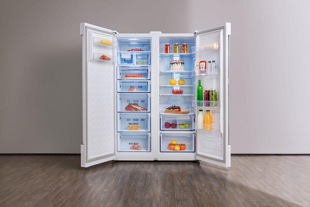 داخل یخچال دیپوینت مدل مکس